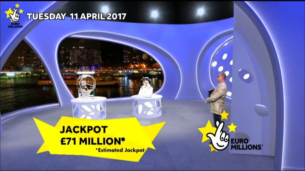 What television channel is the EuroMillions draw broadcast on