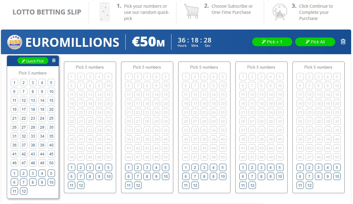 how to play euro millions online 1